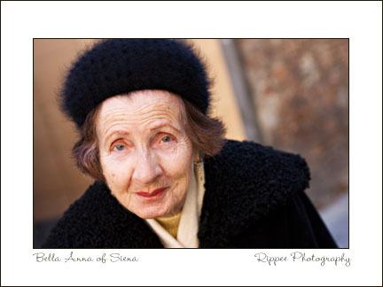 Fine Art Photorgaphy 2007 Italy Trip: Italian Woman in Siena
