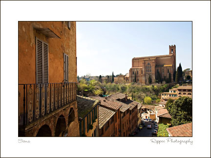 Fine Art Photorgaphy 2007 Italy Trip: View in Siena