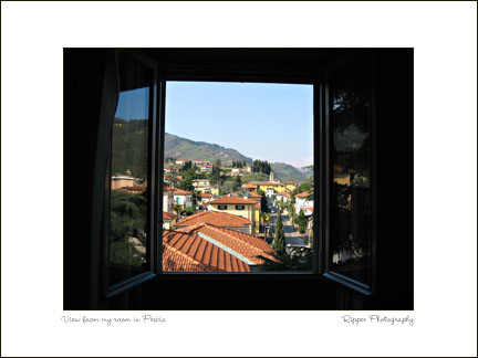 Fine Art Photorgaphy 2007 Italy Trip: Beautiful view of Pescia