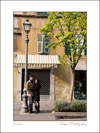 Fine Art Photorgaphy 2007 Italy Trip: Couple in Front of Door
