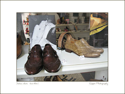 Fine Art Photorgaphy 2007 Italy Trip: Cobblers Shoes
