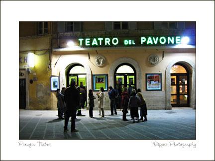 2007 Italy trip: Perugia Theatre