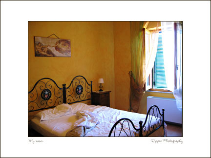 2007 Italy trip: La Chiocciola Trattoria Bed and Breakfast