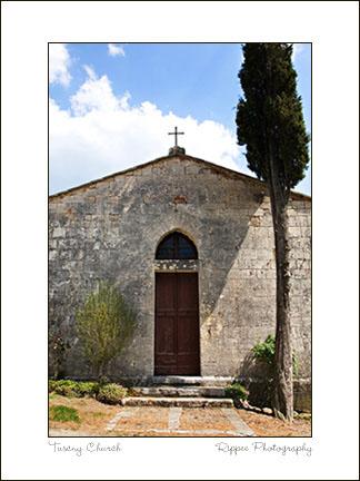 2007 Italy trip: Frosini Church