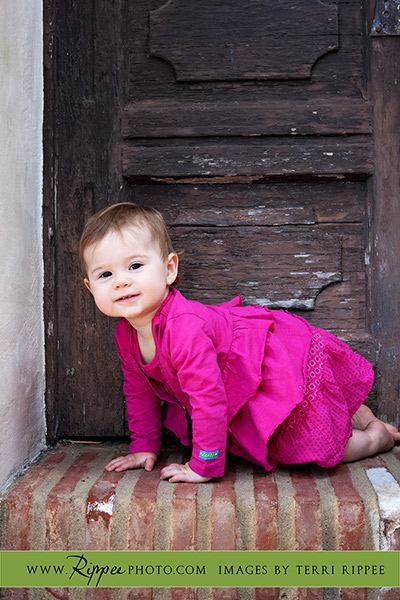Baby Sari: With Adorable Pink Dress