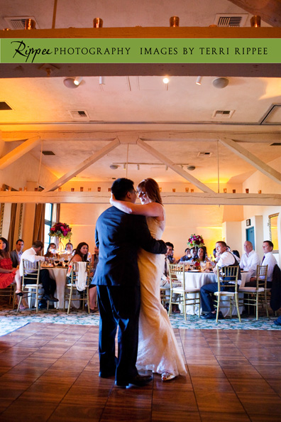 Erin and Erwin's Wedding at the Prado in Balboa Park: Bride and Grooms First Dance