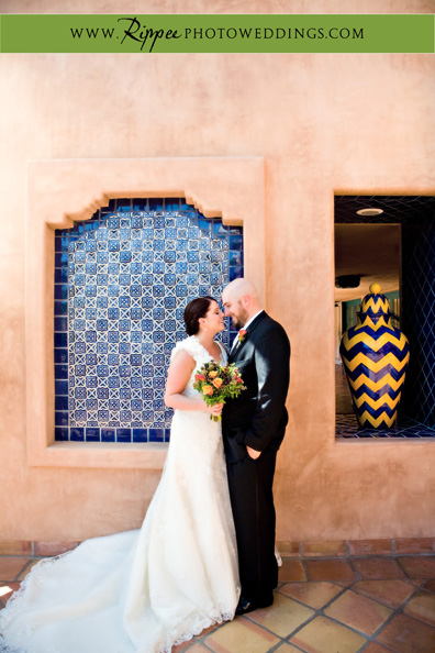 Megan and Steve Rancho Valencia Wedding: Intimate Moments