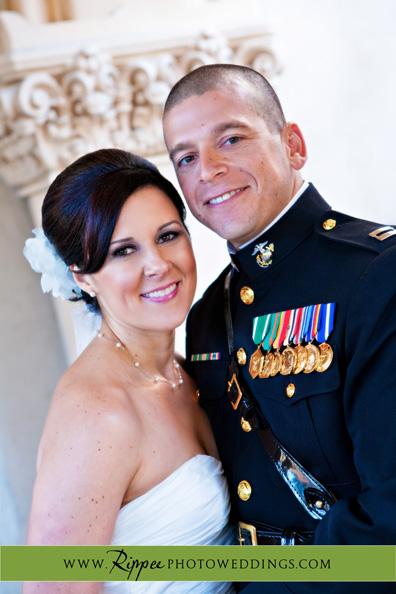 Wedding at the Prado Beth and Gabe