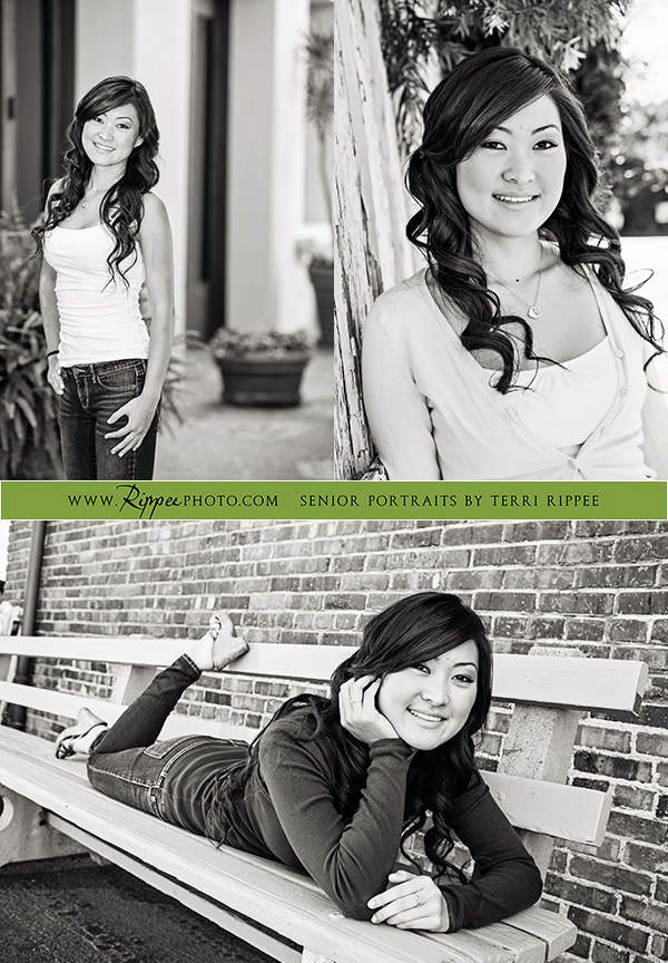 Senior Portraits: Megan Looking Happy