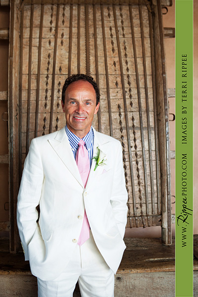 Wedding at Rancho Valencia Resort Del Mar: Bill the Groom