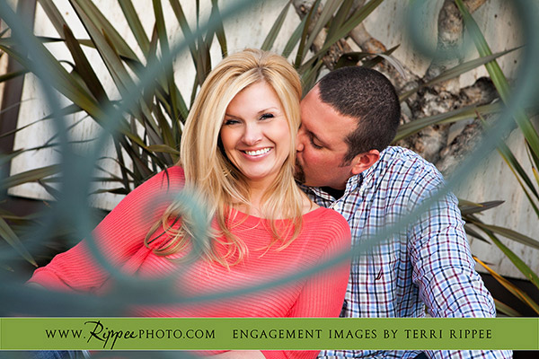 Balboa Park Engagement Photography: Phil showing Affection.