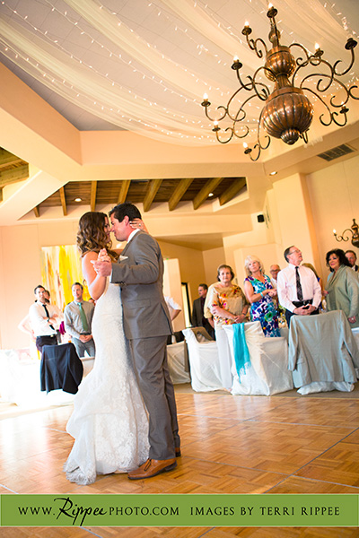 Borrego Springs Wedding: First Dance As A Married Couple