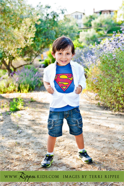 Boy Superman: Superboy Revealing Himself