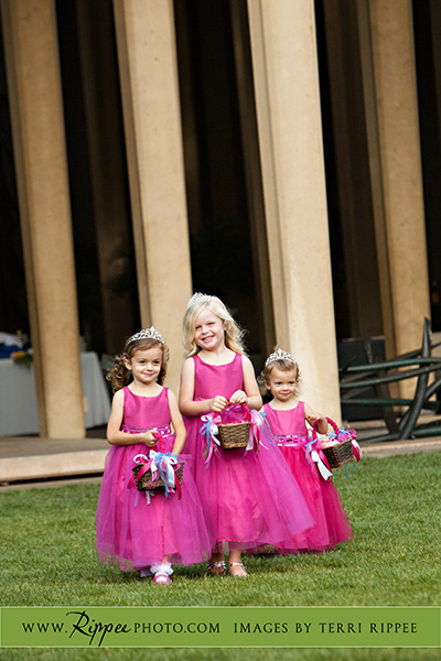 Jill and Sam Balboa Park Wedding: Lovely Flower Girls