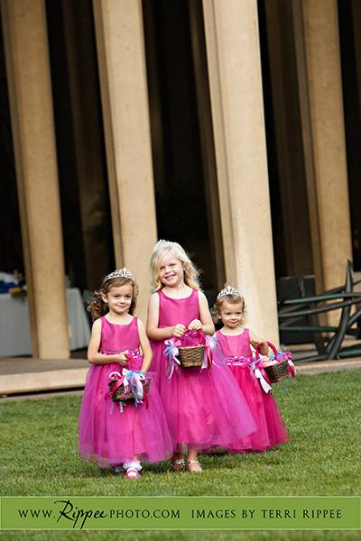 Jill and Sam Balboa Park Wedding: Lovely Flower Girls