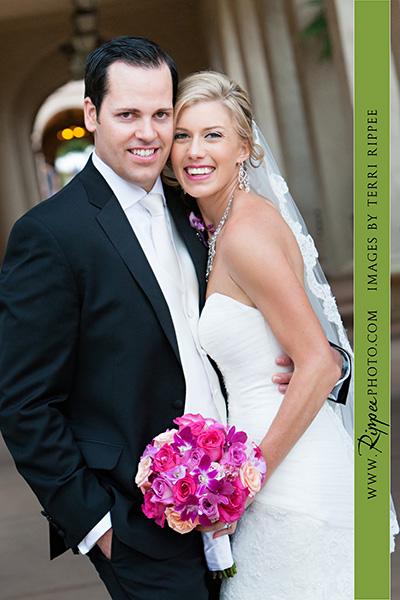 Jill and Sam Balboa Park Wedding: Newelyweds Having Great Time
