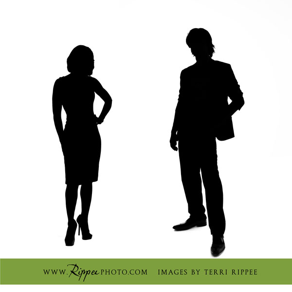 Ten Seventy Architecture Business Portraits: Standing Silhouettes of The Architects