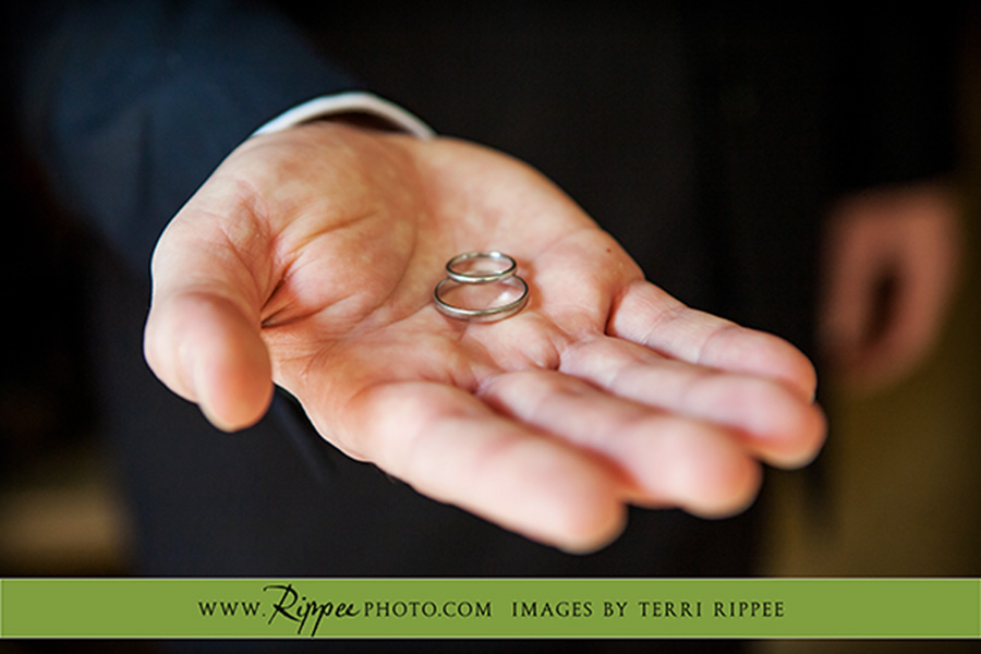 Trevor and Rujuta's Wedding: The Rings