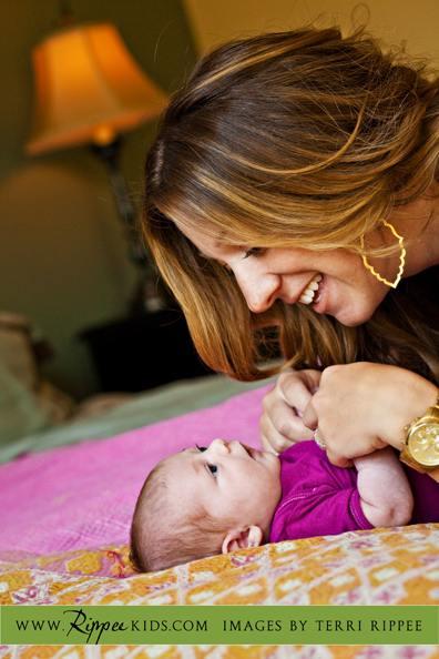 Newborn Baby Layla: Time with Mom